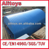 Blue color best quality large inflatable tent , inflatale event tent