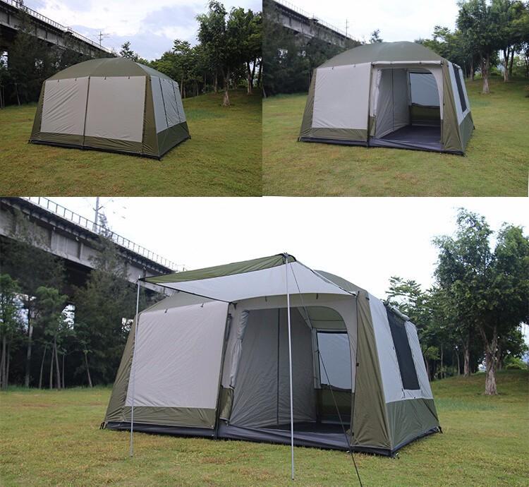 tentes de camping 12 personne chapiteau plage ombre tipi. Black Bedroom Furniture Sets. Home Design Ideas