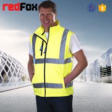 warm safety body warmer vest