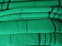 Strip 150D single 100% viscose rayon bath mitt towel fabric