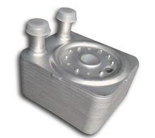 Engine Oil Cooler For (2004 - 2013) Porsche Cayenne 3.2L 3.6L OE:95510702103 , Aluminum Oil Cooler