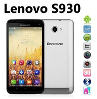Original Lenovo S930 Quad Core Supports multi language 6.0 inch 3G android mobile phone lenovo mobile phone