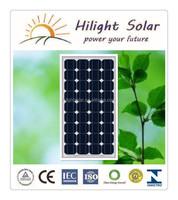 Mono 100 Watt Solar Panel Popular Size 12v Solar Panel with Tuv Iec Ce Cec Iso Inmetro