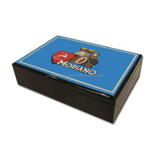 Modiano Hi Gloss Protective Wooden Case for Playing Cards