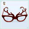 Novelty Cheap Plastic Funny Reindeer Christmas Glasses HPC-2405