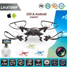 New Product 2015 LH-X10WF 2.4G Remote Control Wifi Control RC Quadcopter Drone with FPV Camera