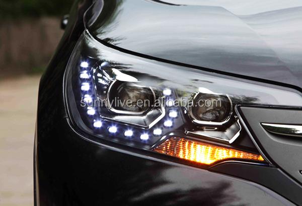 2012-2014 year For CRV LED Head Light for HONDA PWV1