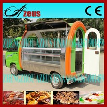 Electric Mobile Kitchen Car/Ice Cream Kiosk For Sale