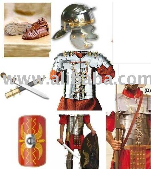 Soldado romano traje