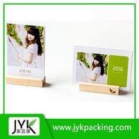 Desktop Wooden Calender / wooden calender / standing desk calendar