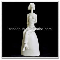 MPB-C3009 resin crafts penis with woman sexy sculpture wedding gifts