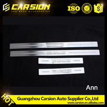 4 DOORS SILL SCUFF STEP PLATE STAINLESS FOR for 2012 Ford edge