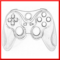 Wholesale Brand New wireless for playstation 4/ps3 games controller joysticks