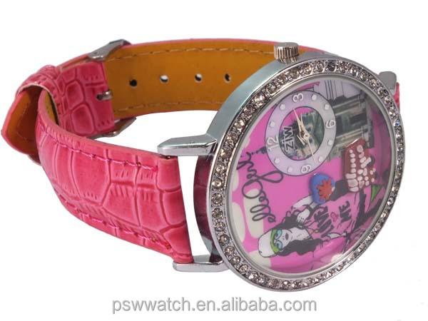 2014 fashion playboy quartz watch korea mini watch fashion watch
