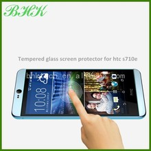 electrostatic adsorption delicate touch tempered glass screen protector for htc s710e , ultra thin screen protector