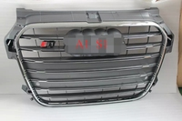 BLACK SPORT MESH FRONT ABS GRILLE FOR A1 S1