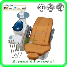 MSLDU18K rotatable ceramic spittoon dental chair price with Deluxe dentist stool