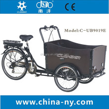 electrical pedal cargo trike