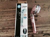 Bathroom Anion Water Pressure Boosting SPA Shower Sprayer Handheld Shower Head filter