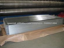 chapa de acero corrugado de zinc para casa de techos de china