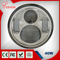 car accessories 5.75inch round 40W led headlight for Harley Motorcycle