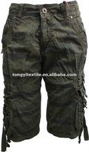 hombres pantalones cortos casuales de algodon Bermudas hombres 2013