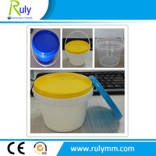 500g jam plastic container, jam packing plastic bucket 500ml