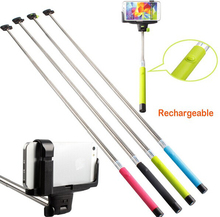 New Wireless Handheld Extendible Bluetooth Selfie stick With Remote Shutter