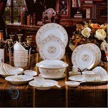 Porcelain Dinnerware & Porcelain dinner set with bone china (56 pieces dinner set by bone china)