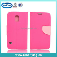 High quality PU leather mobile cover for Samsung Galaxy S5