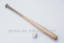 durable birch wood baseball bat with wooden smell