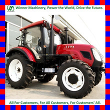 china factory direct supply 2wd and 4wd 1000/1004 model 100HP agriculture/agricultural tractor with air conditioner cabin