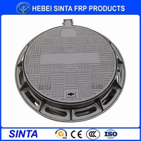 Plastic manhole cover/pvc manhole cover made in China