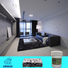 WP1321 concrete substrate unbreakable protective film coating