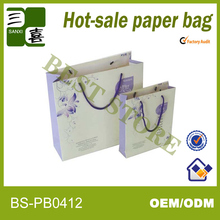paper shopping bag making for packaging iphone 4 case