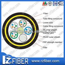 ADSS All dielectric self supporting Aerial cable de fibra optica precio