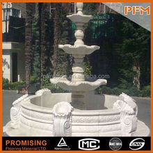 Natural stone Pure hand carved sump pump basin