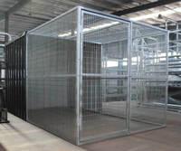 Brazen durable handmade dog kennel