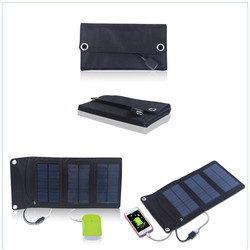best solar folding portable power pack bag for mobile phone 5W