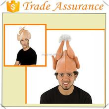 EN71 novelty plush together 3mm sponge Thanksgiving turkey hat