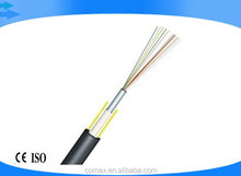 Single Loose Tube FRP Optical Fiber Cable price GYFXY