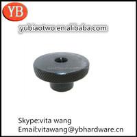 China factory directly supply custom test tube with aluminum screw cap/M5 anodized aluminum screw cap/knurled screw ISO9001/RoHS