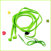 new product best quality plastic waterproof shoelace style earphone