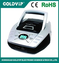 Goldyip portable cd boombox with am fm radio