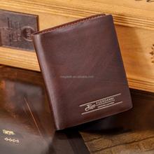 Customize new style wallet men wallet manufacturer