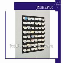 48-Pocket Wall Mount Business Card Holder Rack