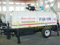 Trailer Concrete Pump ISO9001&BV Approved