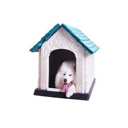 Resin unique garden decoration custom wholesale Dog house