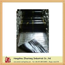 Construction roofing materials--waterproof underlayment below asphalt shingle/rain drainage