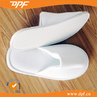 Indoor Hotel Hospital Used Disposable EVA Polyester Slippers
